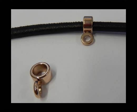 Stainless steel part for leather SSP-238-7mm-Rose gold