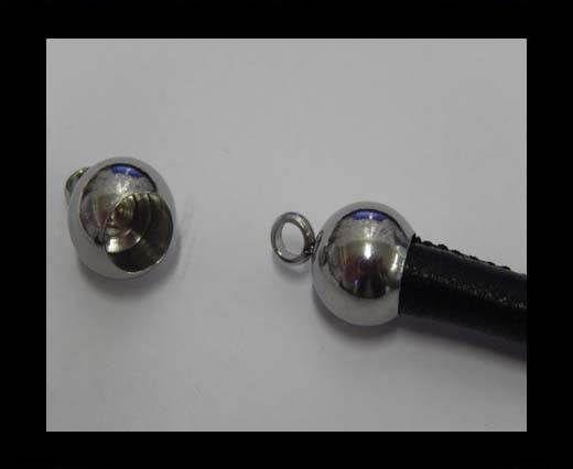 Stainless steel end cap SSP-383-6mm-Steel