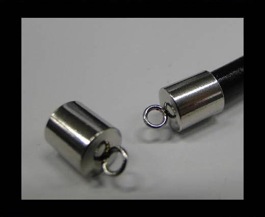 Stainless steel end cap SSP-391-steel-6mm