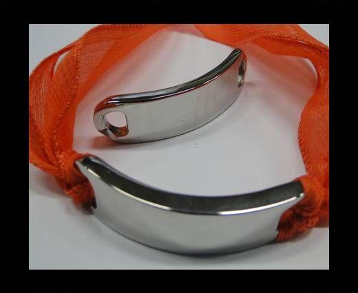 Stainless steel part for bracelet SSP-394-15*63mm