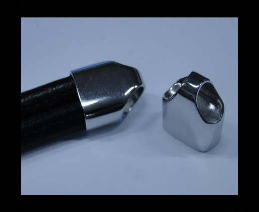 Stainless steel end caps SSP-49-14.5*7.3MM
