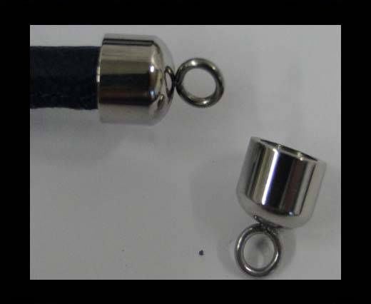 Stainless steel end cap SSP-585-6MM
