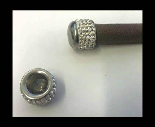 Stainless steel end cap SSP-646-8mm-Steel