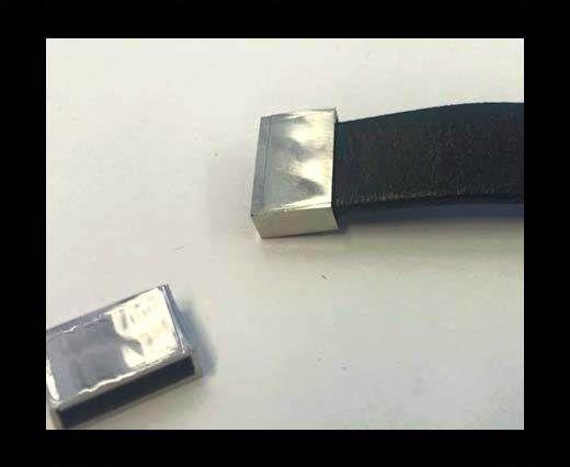 Stainless steel end caps SSP-676-10*2mm-Steel