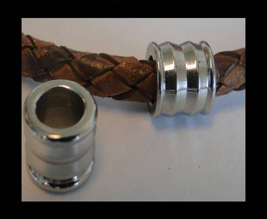 Stainless steel part for leather SSP-68 - 6mm