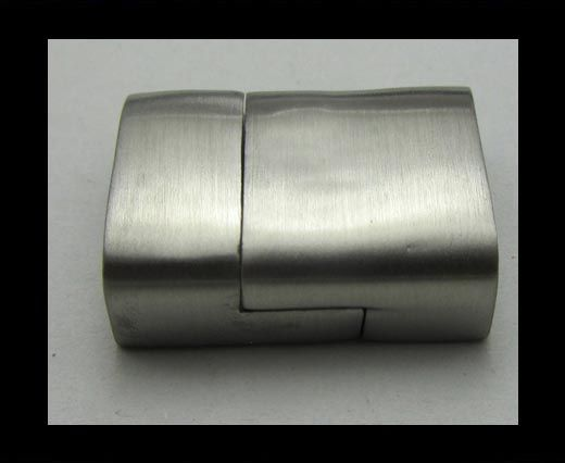 Stainless Steel Magnetic Clasp,Matt,MGST-23-14x5mm