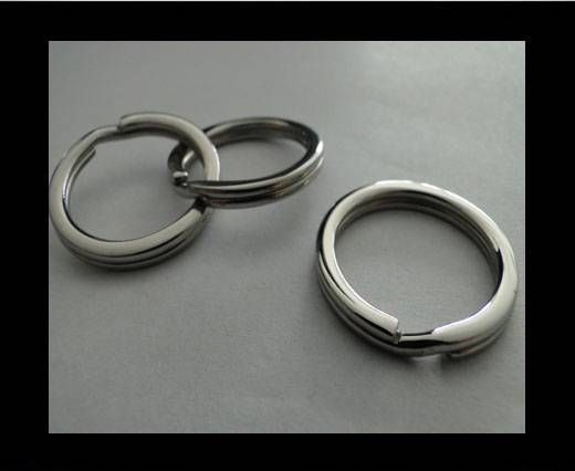 Stainless Steel Round Key Ring Finding - SSP-28