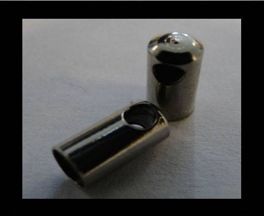 Stainless steel part for round leather SSP-40