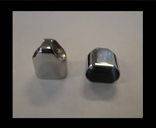 Stainless Steel end caps SSP-49-14,5*7,3MM