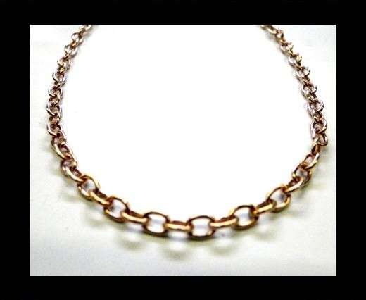 Steel Chain Item 16 Rose Gold