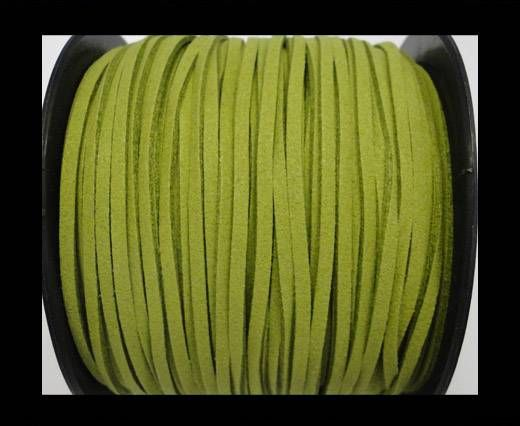 Suede cord - 3mm - Light green