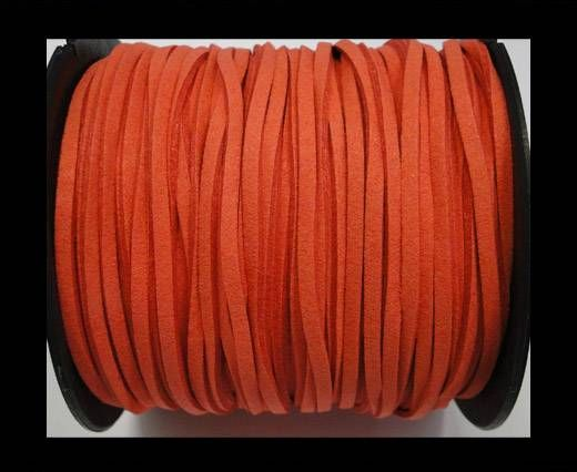 Suede cord - 3mm - Watermelon Red