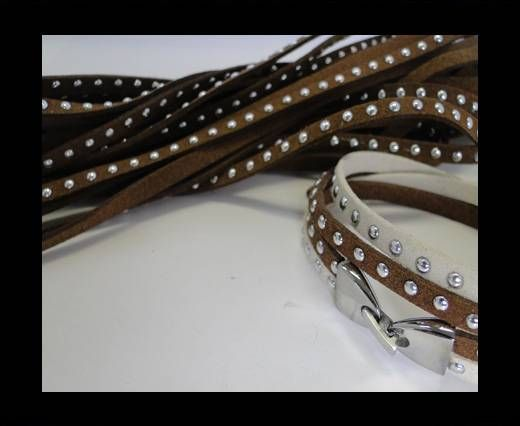 Suede cords 5mm - Brown