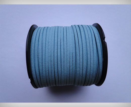 Suede Cords-3mm-Light Blue