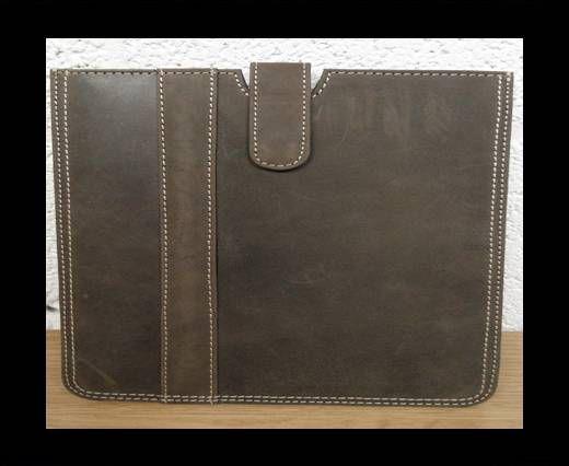 SUNS-221 -Genuine Leather I-pad Cover