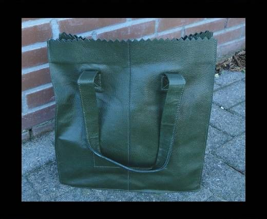 Vintage Leather Neptune Series-SUN-20511-Oily Olive Green