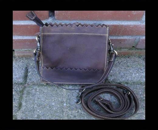 Vintage Leather Mercury Series Bag-20510-Distressed Wine