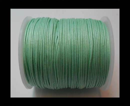 Wax Cotton Cords - 1mm - Aquamarine