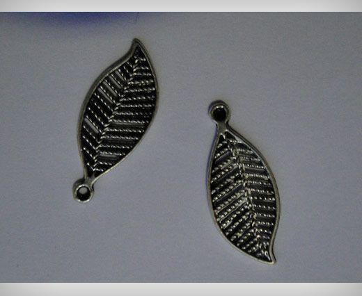 Zamac Silver Plated Beads CA-3096