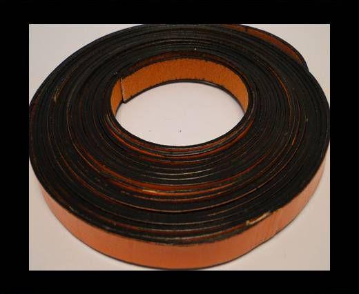 Flat Leather-Orange