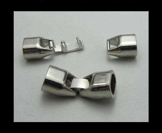 Locks for leather/Cords ZAML-26( 8mm by 5mm)