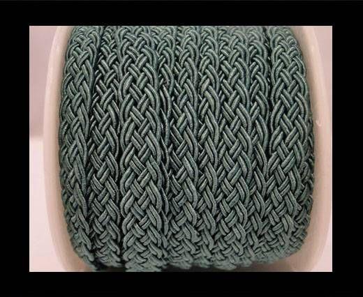 Cordón de Algodón Trenzado- Verde