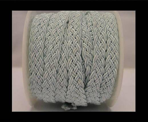 Cordón de Algodón Trenzado- Azul Claro