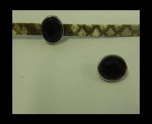 CA-4832-6*2mm-Black Quartz
