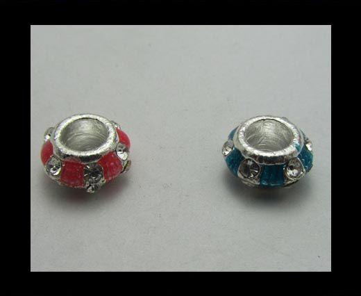Crystal Big Hole Beads CA-4147