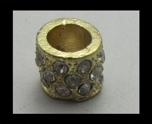 Crystal Big Hole Beads CA-4157