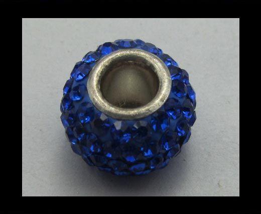 Crystal Big Hole Beads CA-4230