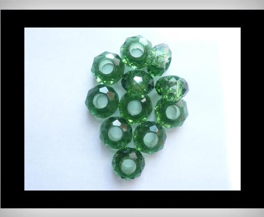 Faceted-Big-Hole-Fern Green