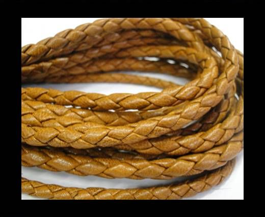 Fine Braided Nappa Leather Cords-6mm-SADDLERY
