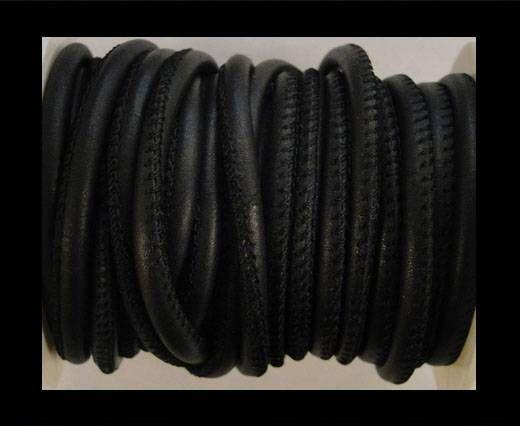 Cuero de nappa de alta calidad -Azul Oscuro-4mm