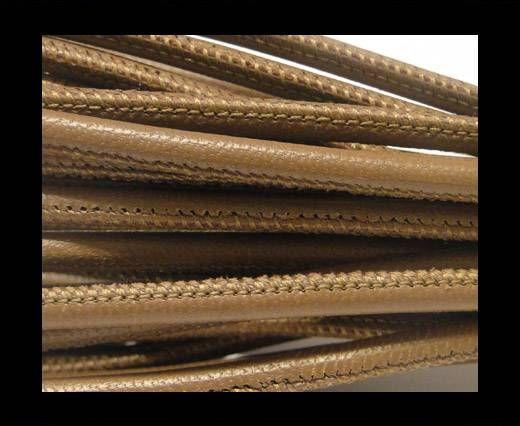 Cuero de nappa de alta calidad - Gris Pardo Oscuro-4mm