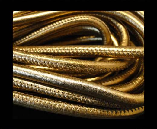 Cuero de nappa de alta calidad - Oro Oscuro-4mm