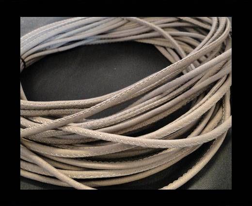 Cuero de nappa de alta calidad - Gris Claro-2.5mm