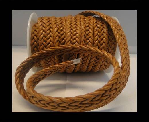 Cordón trenzado Estilo especial- 16mm- Marrón