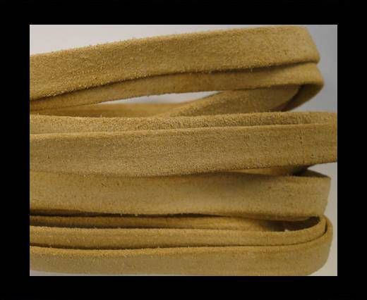 Flat Suede Leather-10mm-Natural