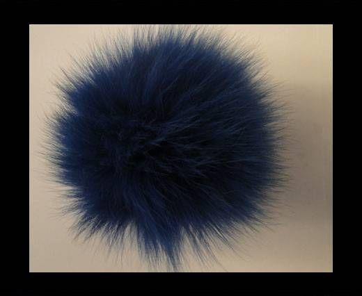 Fox Fur-Dark Blue -14cms