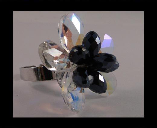 GBJ-Ring-Rose Crystal