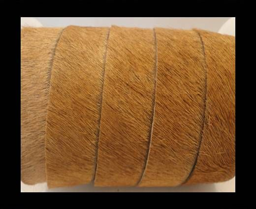 Hair-On-Flat Leather-Beige-5MM
