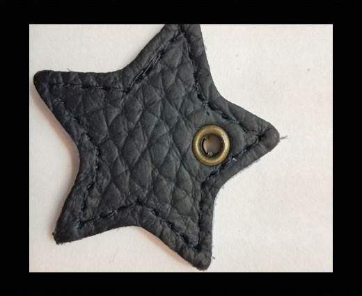 KC-Key Cord Star Shape 4cm blu