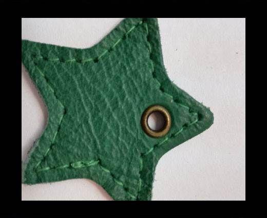 KC-Key Cord Star Shape 4cm green