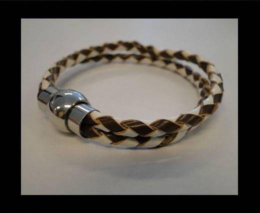 Leather Bracelets MLBSS-5