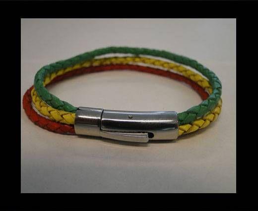 Leather Bracelets MLBSS-17