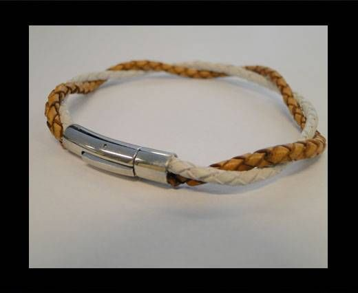 Unisex Leather Bracelet MLBSS-19