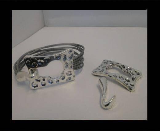 Locks for leather/Cords zaml-58