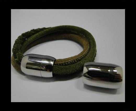 Locks for leather/Cords -MGST-03-10mm-Steel