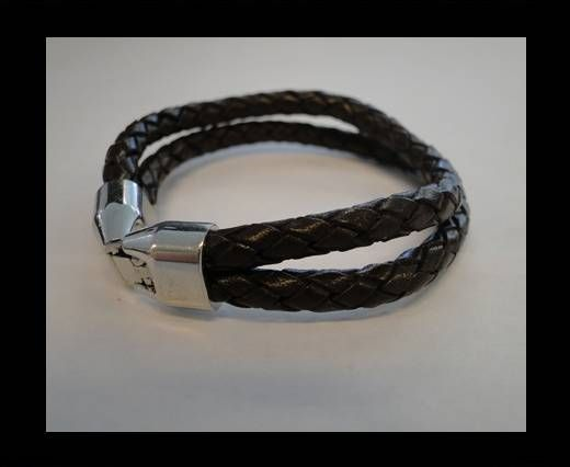 Non Steel Leather Bracelets MLBSP-2